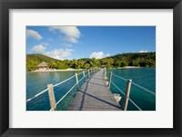 Framed Pier at Likuliku Lagoon Resort, Malolo Island, Fiji