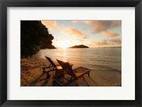 Framed Likuliku Lagoon Resort, Malolo Island, Fiji