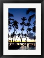 Framed Shangri-la Fijian in Viti Levu, Fiji