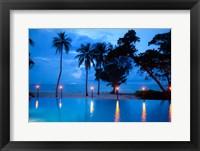 Framed Torches at Yasawa Island Resort and Spa, Fiji