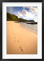 Framed Footprints, Yasawa Island Resort and Spa, Fiji
