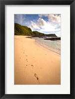 Framed Footprints, Yasawa Island Resort and Spa, Fiji