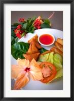 Framed Samosa, Cuisines, Yasawa Island Resort, Fiji