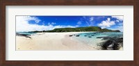 Framed Beach at Yasawa Island Resort Spa, Yasawa Islands, Fiji
