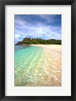 Framed Yawini Beach, Fiji