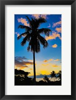 Framed Sunset, Taveuni, Fiji