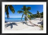 Framed Beach, Waitatavi Bay in Vanua Levu, Fiji