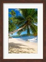 Framed Sandy Beach, Matangi Private Island Resort, Fiji