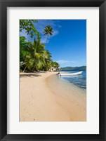 Framed Beach at Matangi Private Island Resort, Fiji