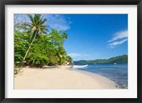 Framed Matangi Private Island Resort Beach, Fiji