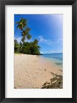 Framed Prince Charles Beach, Fiji