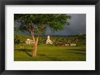 Framed Taveuni Waiyavo Catholic Church, Fiji