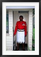 Framed Guard, Former Government House, Suva, Fiji