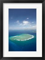 Framed Namotu Island, Mamanuca Islands, Fiji