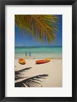 Framed Beach, Plantation Island Resort, Malolo Lailai, Fiji