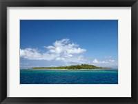 Framed Malolo Lailai Island, Mamanuca Islands, Fiji