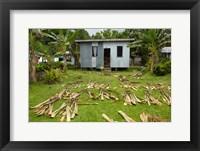 Framed Iron house, Namaqumaqua village, Viti Levu, Fiji