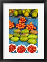 Framed Nadi Produce Market, Nadi, Viti Levu, Fiji