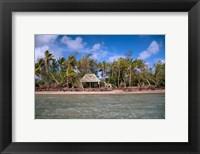 Framed Shelter at Channel Beach, Turtle Island, Yasawa Islands, Fiji