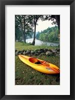 Framed Kayak on Housatonic River, Litchfield Hills, Housatonic Meadows State Park, Connecticut
