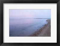 Framed Early Morning on the Beach at Griswodl Point in Old Lyme, Connecticut