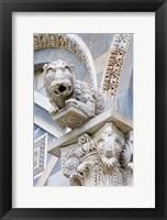 Framed Gargoyle of Duomo Pisa, Pisa, Italy