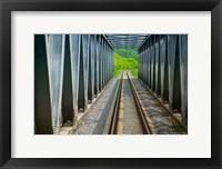 Framed Suspending bridge, Bratislava, Slovakia