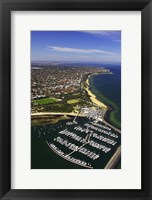 Framed WWI Submarine Wreck, Picnic Point, Sandringham, Port Phillip Bay, Melbourne, Victoria, Australia