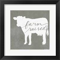 Farm Raised Framed Print