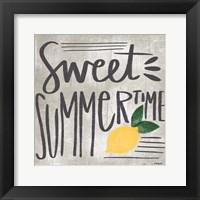 Framed Sweet Summertime