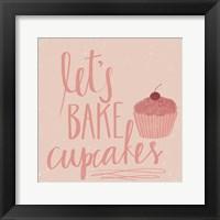 Framed Let's Bake