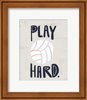 Framed Volleyball