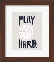 Framed Volleyball