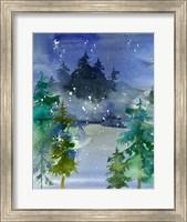 Framed Watercolor Winter