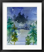 Framed Watercolor Winter
