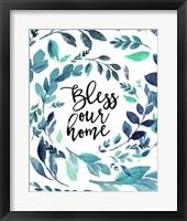 Framed Bless Our Home