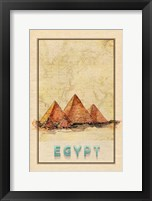 Framed Travel Egypt