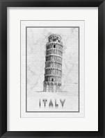 Framed Travel Italy