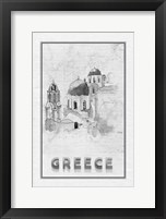 Framed Travel Greece