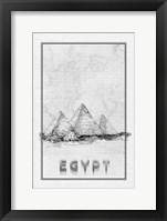 Framed Travel Egypt