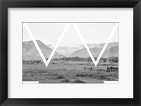 Framed Cattle Country