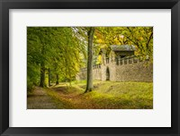 Framed Saalburg Guard House