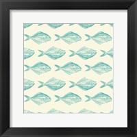 Framed Fish Pattern