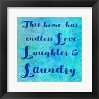 Framed Love Laundry