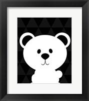 Framed Woodland Bear