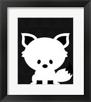 Framed Woodland Fox