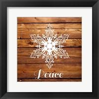 Framed Snowflake