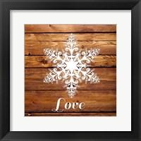 Framed Snowflake II
