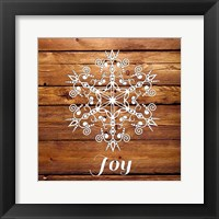 Framed Snowflake III