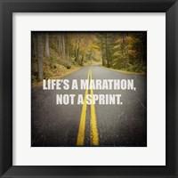 Framed Life's a Mararthon